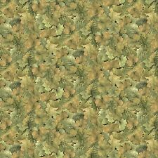 """Sonoma Country Grape Leaves 100% cotton 44"""" fabric by the yard"""
