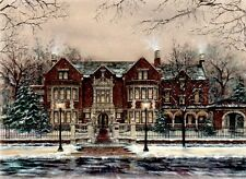 "*Susan Amidon ""GOVERNOR'S MANSION"" Limited-St. Paul-Summit Ave-Grand-Art-RARE*"