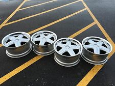 "18"" VOLK RACING PRESTIGE RAYS WHEELS RIMS 5X120 WORK SSR BMW"