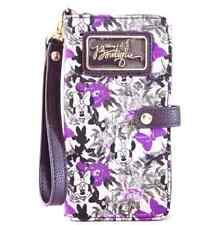 Walt Disney World Authentic Wallet✿Boutique Minnie Mouse Purple Wristlet Flowers