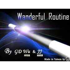 WANDERFUL ROUTINE by GD WU & JJ - COLOR CHANGING WANDS WITH DVD MAGIC WAND TRICK