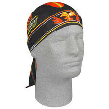 MGD Miller Genuine Draft Beer Eagle Logo Doo Rag Headwrap Skull Cap Biker Black