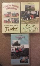Vintage tractors,forage machinery,diggers at work vhs videos