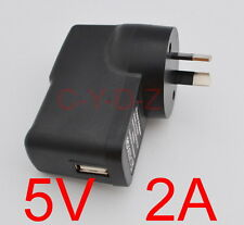 AC / DC 5V 2A 2000mA AU Plug USB Power Supply Adapter Charger Android Tablet PC