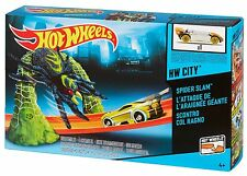 Hot Wheels City Spider Trap Car Race Track Ages 4+ New Toy Boys Girls Fun Play
