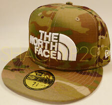 THE NORTH FACE NEW ERA CRYE PRECISION MULTICAM 59FIFTY HAT - 7 3/8