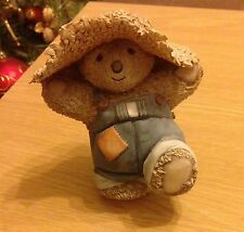 BARLEY BEAR HAPPY DAYS ORNAMENT (Country Artists 90649)