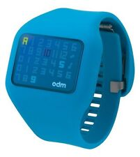 Montre   ODM Illumi  Digitale Mixte bleu  DD126.4 neuf
