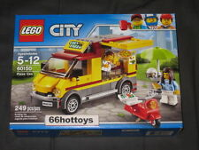 LEGO CITY 60150 Pizza Van New