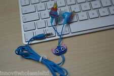 Minion In-Ear Earphone 3.5mm Headphone Earbuds For iPhone 5 5c 5s iPad 1-4 iPod