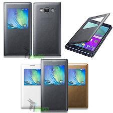 Custodia Flip Cover S VIEW Slim Per Samsung Galaxy A5 SM-A500FU + Pellicola