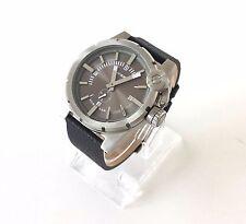 Diesel Herren Uhr schwarz Leder DZ4271 watch orologio reloj montre