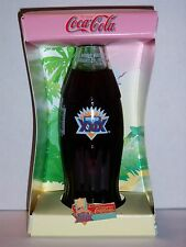 8 OZ COCA COLA COMMEMORATIVE BOTTLE - 1994 SUPERBOWL XXIX IN BOX W/PIN