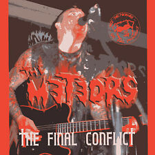 METEORS The Final Conflict CD - BRITISH PSYCHOBILLY sealed NEW Paul Fenech