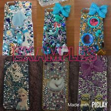Disney Hard Back Bling Case Iphone 4 4s 5 5s 5c, Samsung 2, 3, 4 Made To Order,