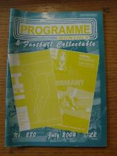 Jul-2004 Programme Monthly & Collectable: The Voice Of 'Football Programme' Coll