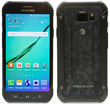 Samsung Galaxy S6 Active SM-G890A Camo Blue At&t (Unlocked) 32GB Android 4G LTE