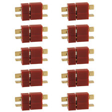 10 Pairs Ultra T Plug Male and Female Connectors Aadaptor For Deans RC