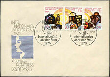 East Germany DDR 1975 Int. Womens Year FDC First Day Cover #C31151
