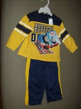 Thomas and Friends Bust My Buffers Childrens shirt and pants suit set size 18M