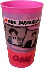 One Direction 'I Love 1d' Pink 2 STÜCK Becher Brandneu Geschenk
