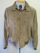"""Polo Ralph Lauren con cremallera de gamuza Harrington Jacket M 38-40"""" euro 48-50 - Brown"""