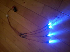 RC coche carro Led Kit De Luz Ultra Brillante Grande 10 Mm Led Hpi Traxxas Azul