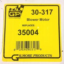 Gilmore Products 35004 Blower Motor Without Wheel