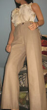 Dalia Collection~ Nude~ Herring~ Wool Pants~ 10 Petite~NWT~ Fully Lined!