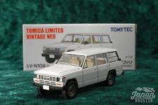 [TOMICA LIMITED VINTAGE NEO LV-N109b 1/64] NISSAN SAFARI EXTRA VAN DX (White)
