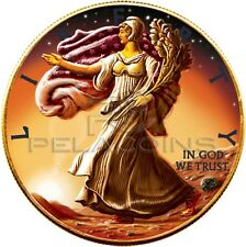 USA 2016 1$ Ounce of Space Walking Liberty Eagle on Mars 1oz Martian Meteorite