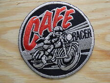 ECUSSON PATCH THERMOCOLLANT CAFE RACER rockabilly rock roll biker triumph norton