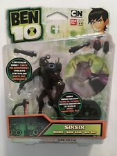 BEN 10 SIX SIX 10cm FIGURE -  ULTIMATE ALIEN FORCE