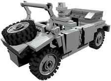 CUSTOM building INSTRUCTION - for WW2 Kübelwagen to build out of LEGO® parts