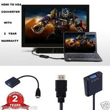 Fashion 1080P HDMI Male to VGA Female Video Converter Adapter for PC DVD HDTV TV