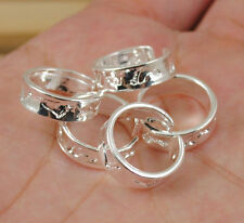 Hot fashion wholesale lots foot  5PCS 925 sterling silver toe ring mini sizeS007