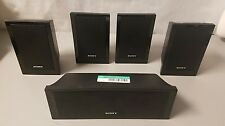 Sony Replacement Speakers SS-CT101 Center SS-TS102 Satellite 5 Speakers Set