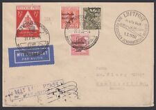 GERMANY, 1950. Soviet Zone Air Cover 192,206A,228, Switzerland