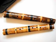 Master Made Chinese Bamboo ZHU XUN Flute Professional Concert Grade LOW Tone C/D