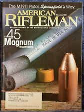 Magazine American Rifleman, NOVEMBER 2001 !!REMINGTON Model 700 TITANIUM RIFLE!!