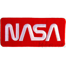 NASA Space Shuttle Embroidered Iron on Patch R-W