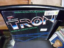 Tron Soundtrack LP 1982 CBS Records EX [Wendy Carlos] IN Shrink