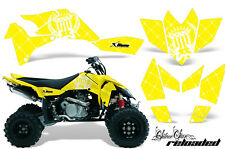 Suzuki LTR 450 AMR Racing Graphic Kit Wrap Quad Decals ATV 2006-2009 RELOADED W