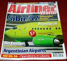 Airliner World 2006 July Gill,Air Europa,Sibir,SriLankan Air Taxi,Premier 1A