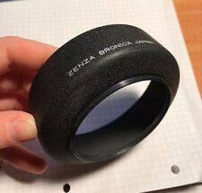 Zenza Bronica 67mm Medium Format Black Metal Screw On Lens Hood #222