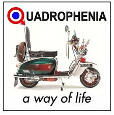 MODS PATCH  QUADROPHENIA BRIGHTON SCOOTERS JIMMY COOPER THE WHO WAY OF LIFE