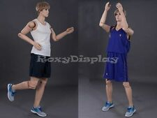 Male Mannequin Flexible Head arms and legs Dress Form Display #MD-Z-MFXF