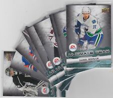 11-12 2011-12 UPPER DECK SER 1 EA ULTIMATE TEAM FINISH YOUR SET LOW SHIPPING