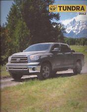 2012 12 Toyota Tundra oiginal sales brochure MINT