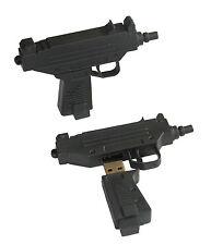 Uzi Gun Pistole - Computer USB Stick mit 8 GB Speicher / USB Flash Drive